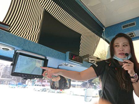 参与的驾驶员实车体验教学。