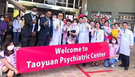 索馬利蘭共和國駐台灣代表穆姆德,參訪衛生福利部桃園療養院及桃園醫院。