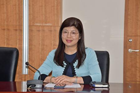 新任文化局长李安妤。