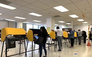 洛縣選舉出奇景 最後3小時漸上人潮