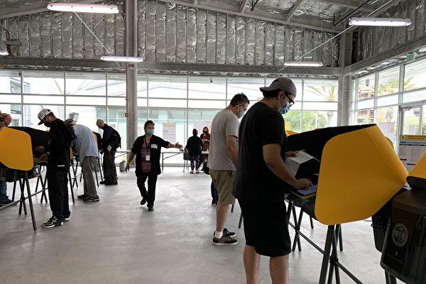 加州近6成選民在大選日前完成投票