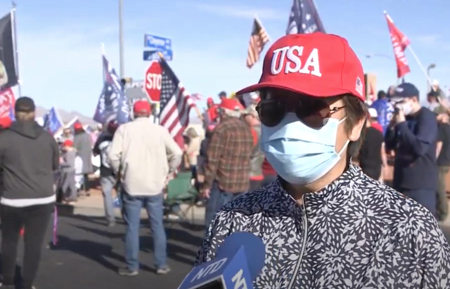 親歷選舉舞弊 拉斯維加斯華人支持特朗普