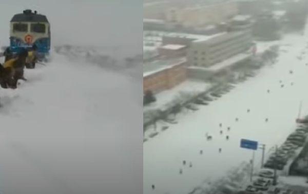 暴雪侵袭 牡丹江机场临时关闭 多机场取消航班