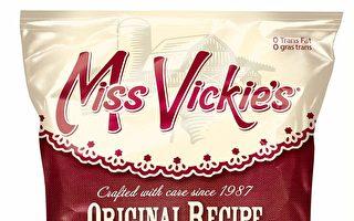 疑混入玻璃渣 Miss Vickie's召回薯片