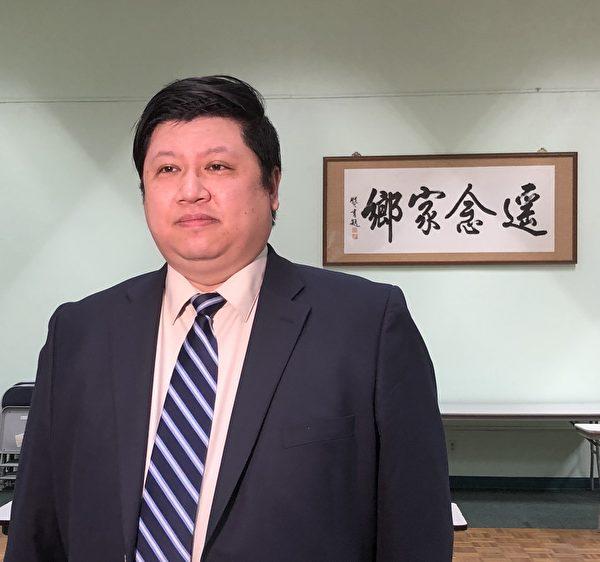 吴兆峯:捍卫美国言论自由 为大纪元被封抱不平