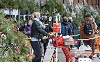 周一起 多伦多再次封锁28天 周末市民抢购