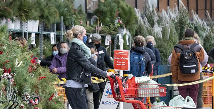 週一起 多倫多再次封鎖28天 週末市民搶購