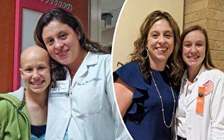美国癌症幸存者 十年后回医院成肿瘤科护士