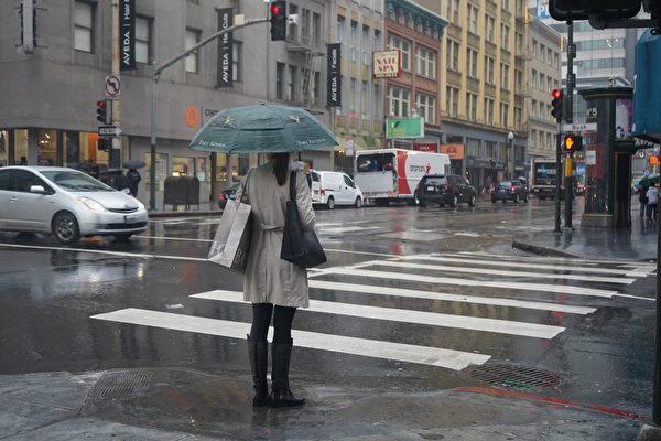 湾区气温渐低 周五将迎来大雨