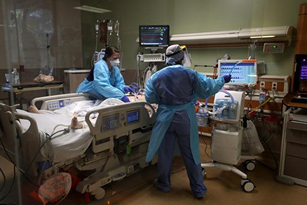 加州單日確診病例創新高 聖塔克拉拉病床告急
