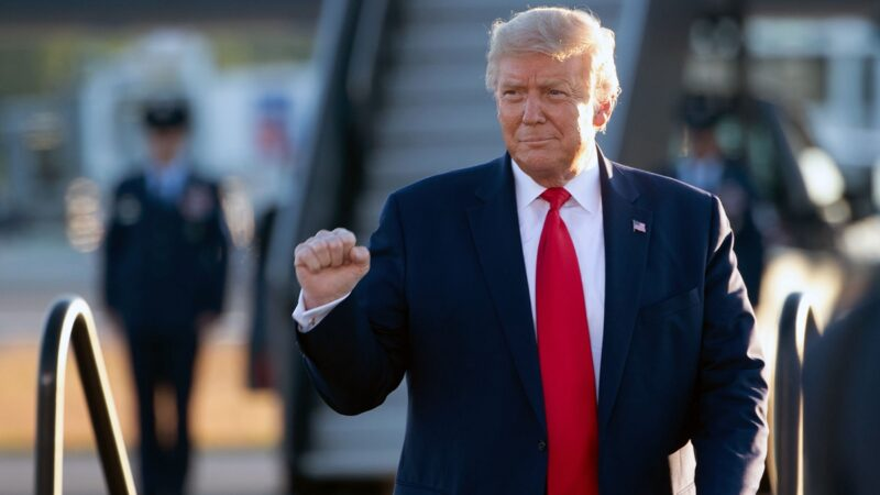 特朗普讚州議員:捍衛美國偉大《憲法》