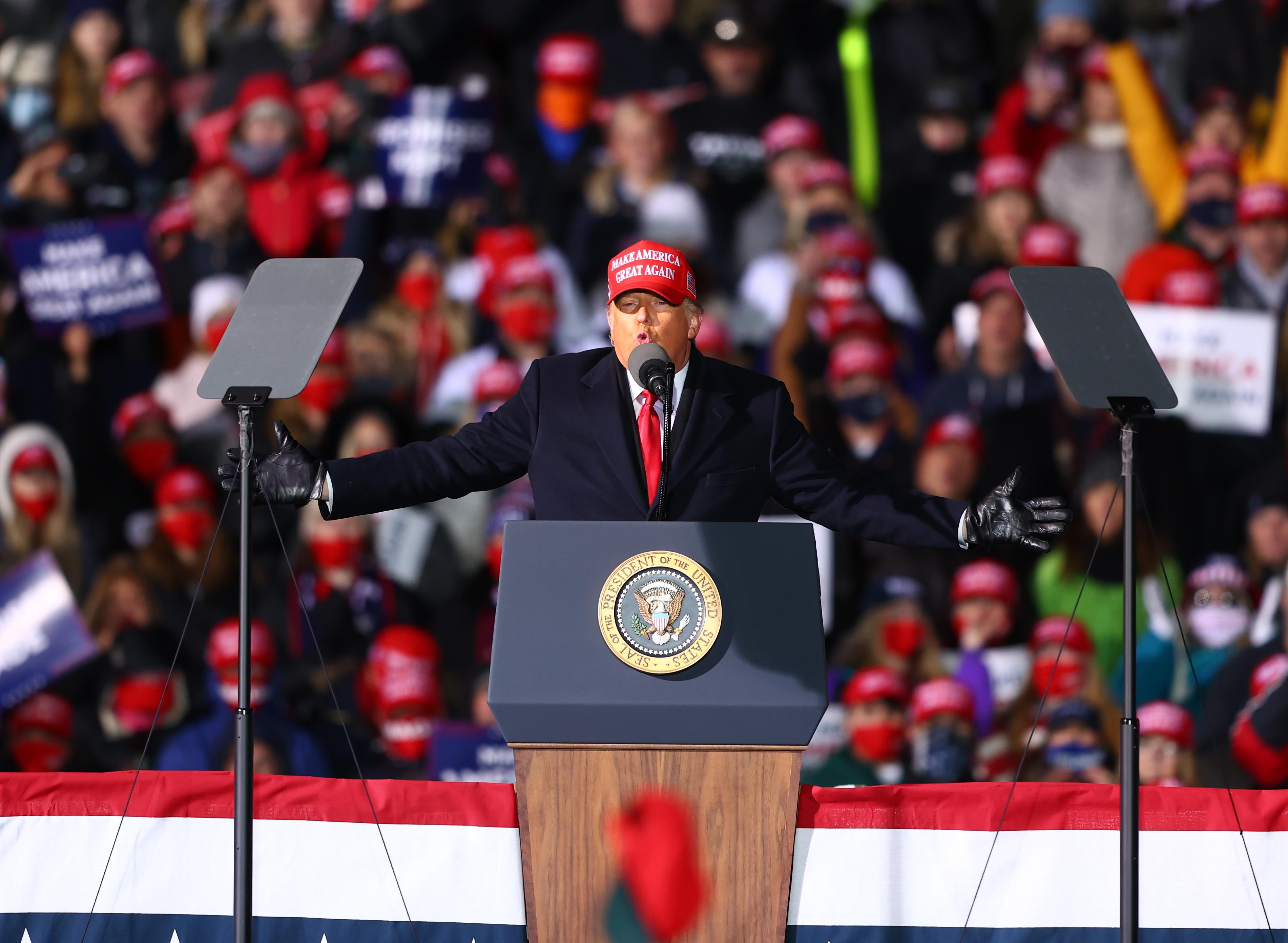 特朗普再揭:拜登密州凌晨7秒內突增14萬選票