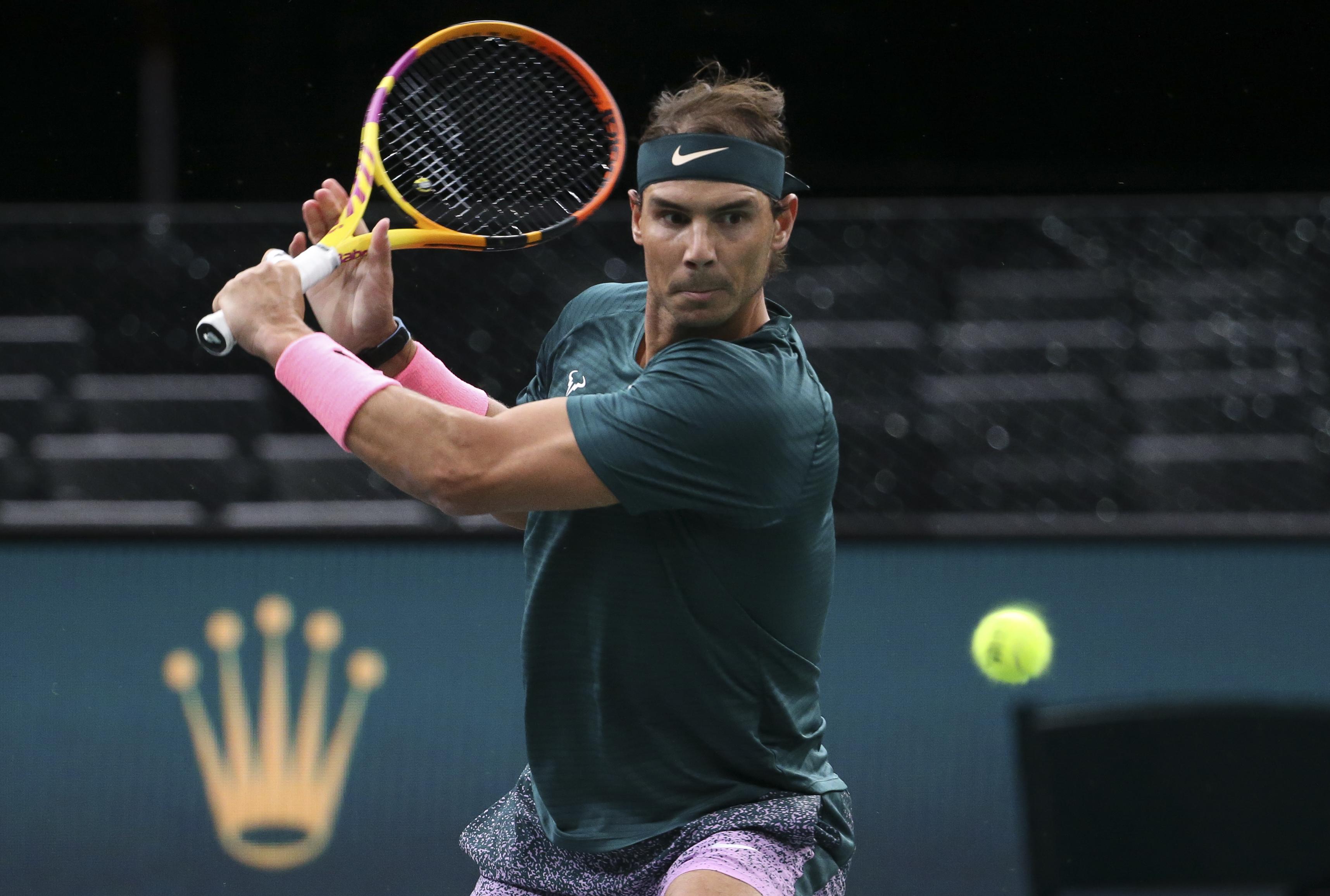 """西班牙""""红土之王""""纳达尔(Rafael Nadal)"""