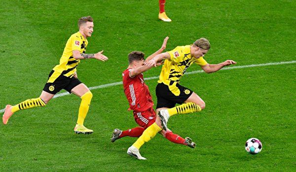 德甲第七轮 拜仁客场击败多特