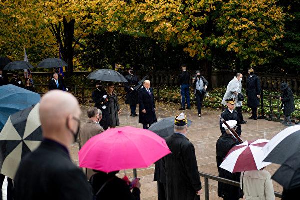 【重播】川普和第一夫人參加退伍軍人日活動