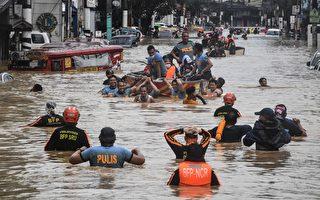 组图:台风环高侵袭菲律宾 已造成39人死亡