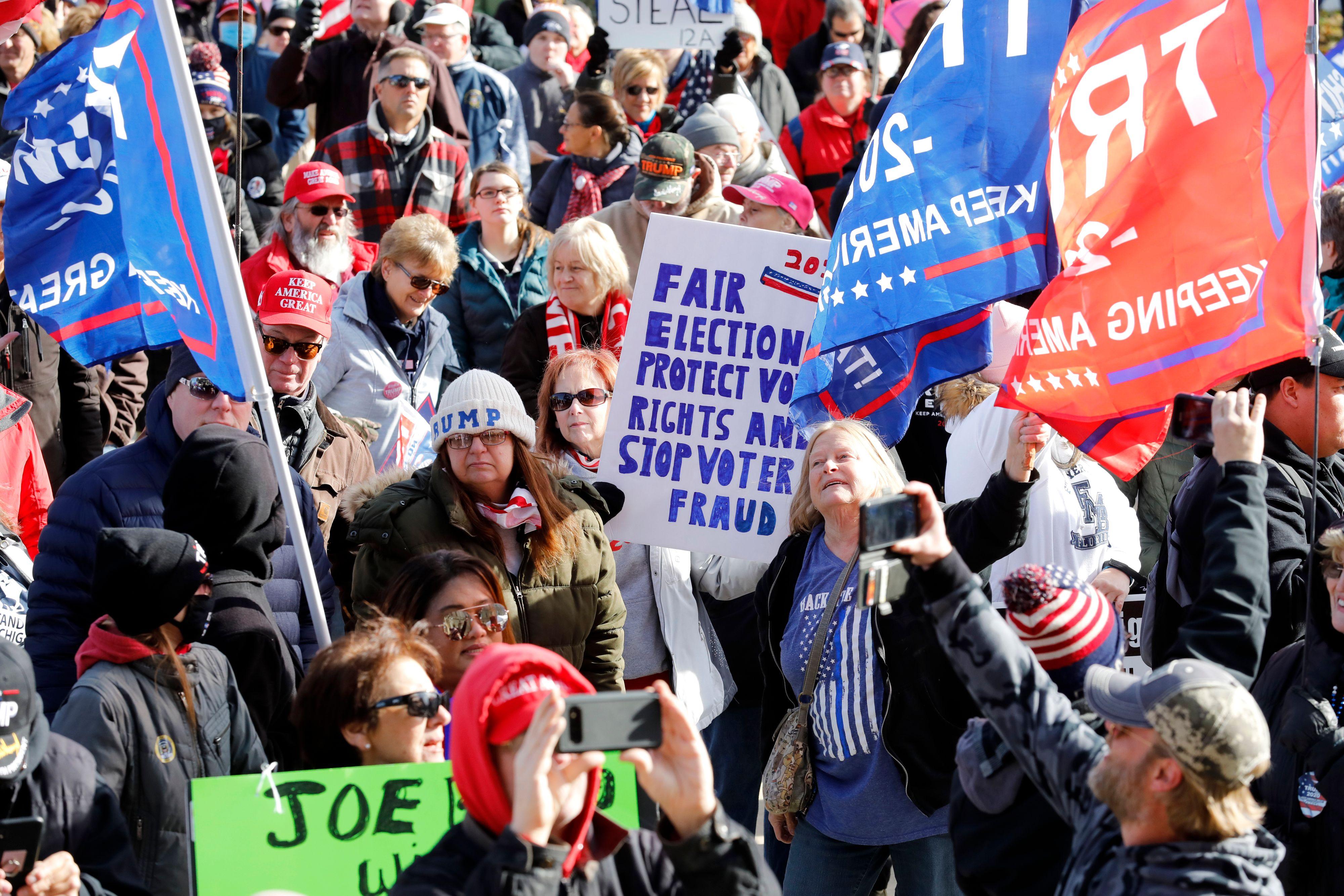 楊威:美國大選舞弊喚起更多人追尋真相