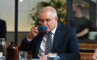 澳总理抵日谈军事合作 行前墨尔本酒吧用餐