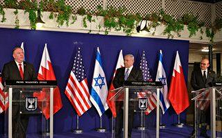 蓬佩奧中東行促和平 以色列巴林將互設大使館