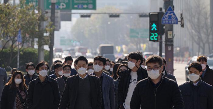組圖:韓國疫情升溫 連續兩日新增逾500例