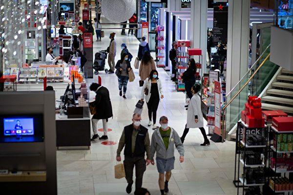 美感染病例再下降 部分商店放宽戴口罩要求