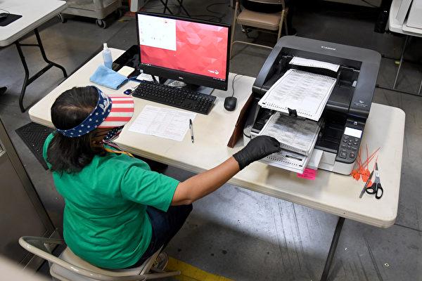 内华达一县辨别选票真假签名 错误率近9成