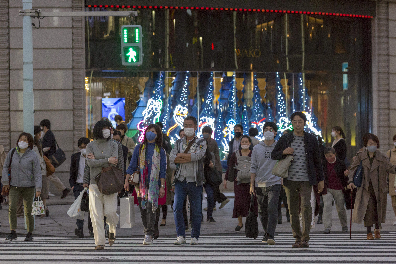 組圖:日本疫情升溫 連兩天確診破千例