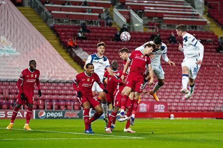 利物浦0:2不敵亞特蘭大