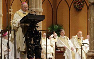 大主教再致信川普:神在您身旁 凡事都能做