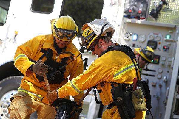 因應未來野火季節 聖縣部署新通訊設備