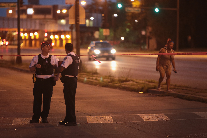 芝加哥周末頻發槍擊案 釀5死45傷