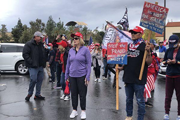 加州民衆聚比弗利山莊:我們必須奪回美國