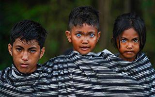 「森林守護者」印尼部落擁有藍寶石般迷人眼睛