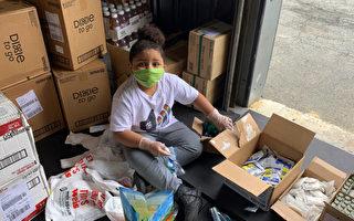 疫期间 美国7岁童建食品储藏室帮助八千人