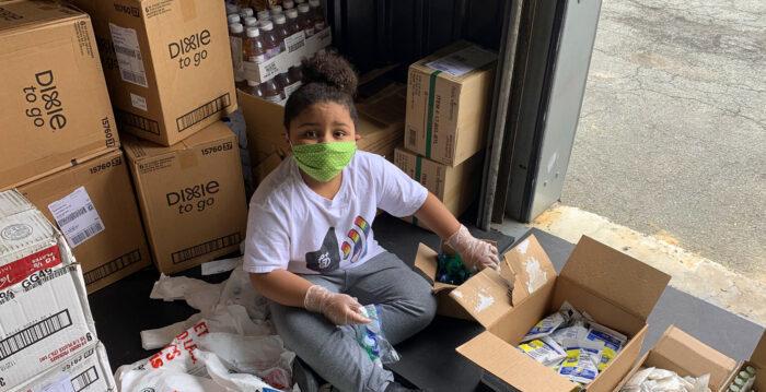 疫期間 美國7歲童建食品儲藏室幫助八千人