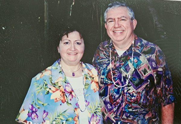 美國加州倫納德·埃斯曼(Leonard Esman)和佛羅倫斯·埃斯曼(Florence Esman)。(本人提供)