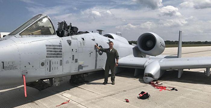 無座艙蓋和起落架竟成功迫降 美飛行員獲勛章