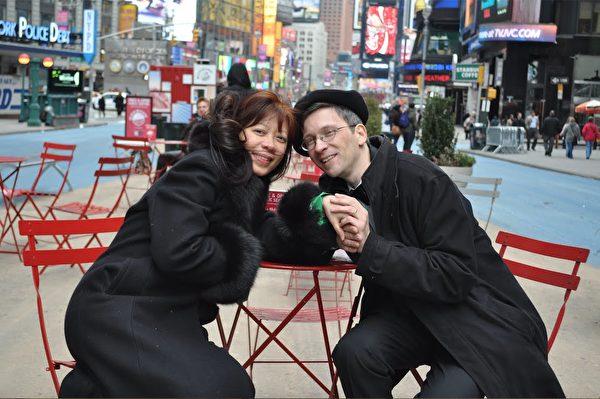 紐約州奧利弗·特里(Oliver Trey)和瑪格麗特·特里(Margaret Trey)。(本人提供)