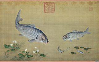 郎世寧,魚