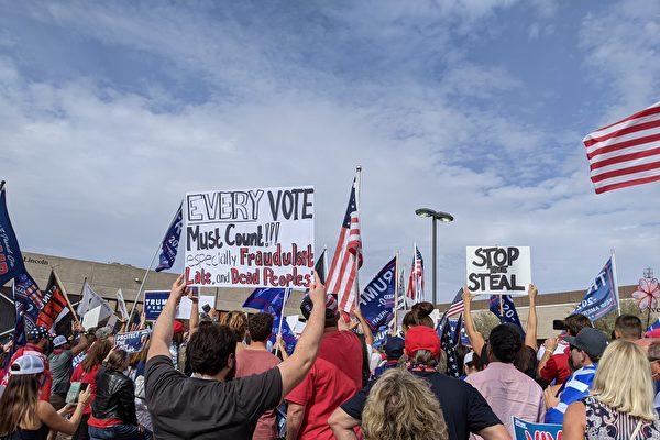 亚利桑那凤凰城选民:我们要合法计算每一票