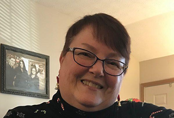 美國俄亥俄州帕特里夏·查斯汀(Patricia Chasteen)。(本人提供)
