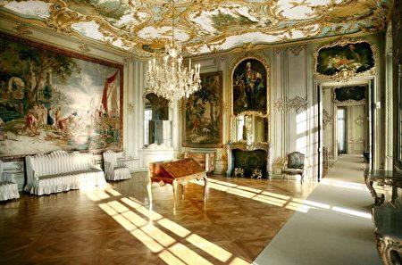 奧古斯都堡, 洛可可, 布呂爾, Brühl, 蒼鷺, 禮拜堂, 會客廳
