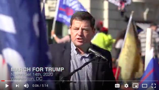 活動組織者、前密蘇里州共和黨主席埃德‧馬丁(ED Martin )(NTD影片截圖)