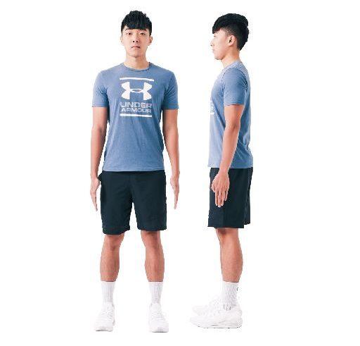所有运动姿势都是从最根本的姿势——站姿发展出来的。图为正确站姿。(日日幸福提供)