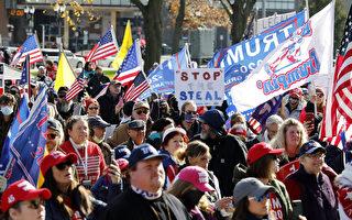 BLM和安提法支持者襲擊挺川民眾