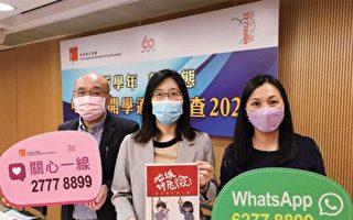 香港五成二受访学生压力指数偏高