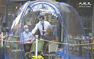 新澤西州長令餐廳晚10點關門  允許「泡泡屋」就餐