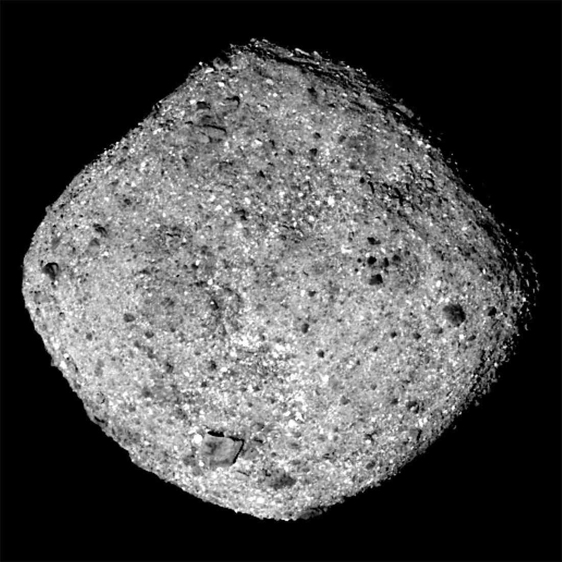 研究發現小行星本努很可能是空心的