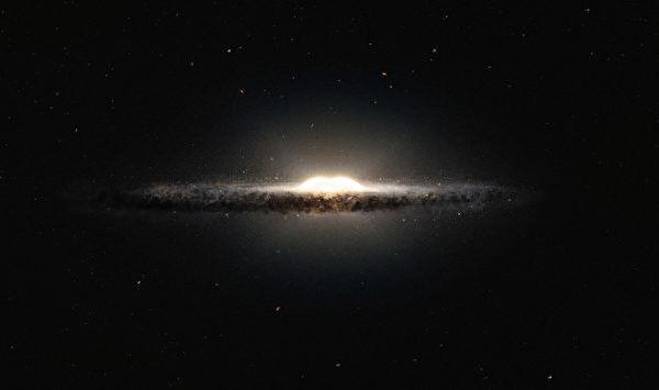 研究:银河中心凸起源自单次新星诞生潮