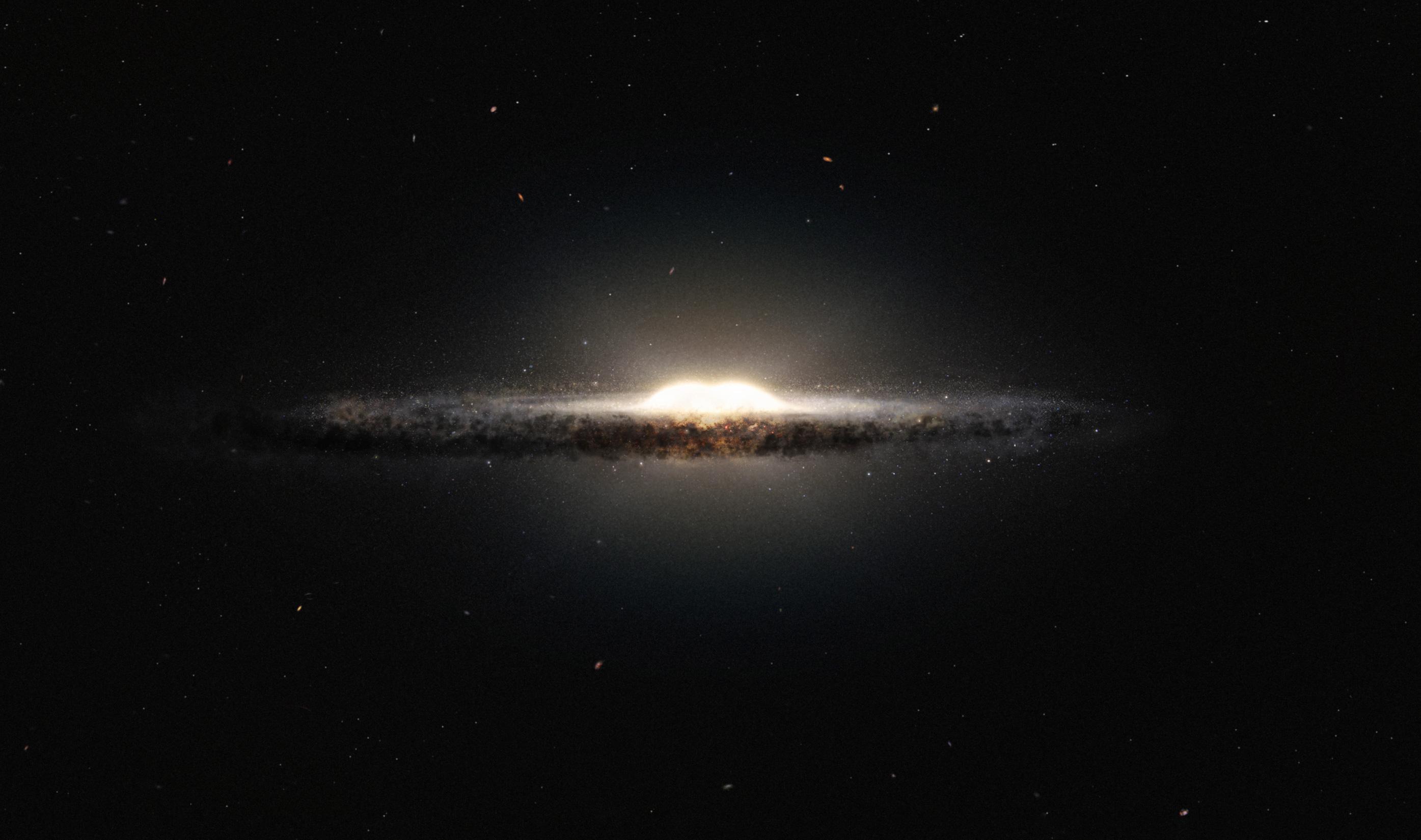 研究:銀河中心凸起源自單次新星誕生潮